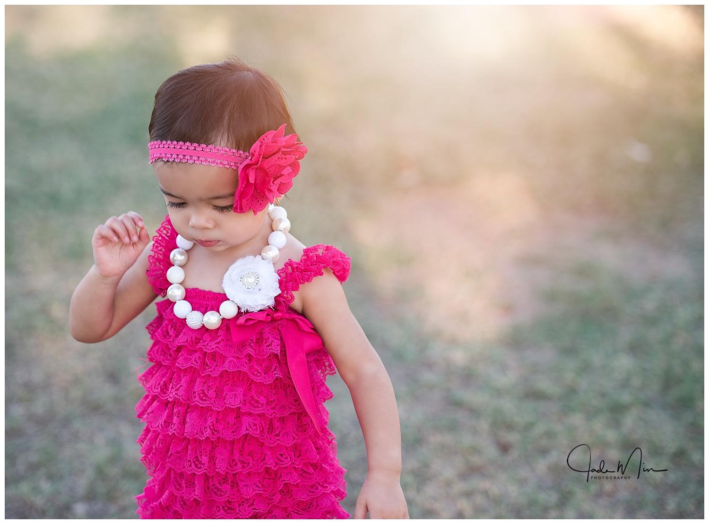 MacKenzie is always stylin', just like her mommy!