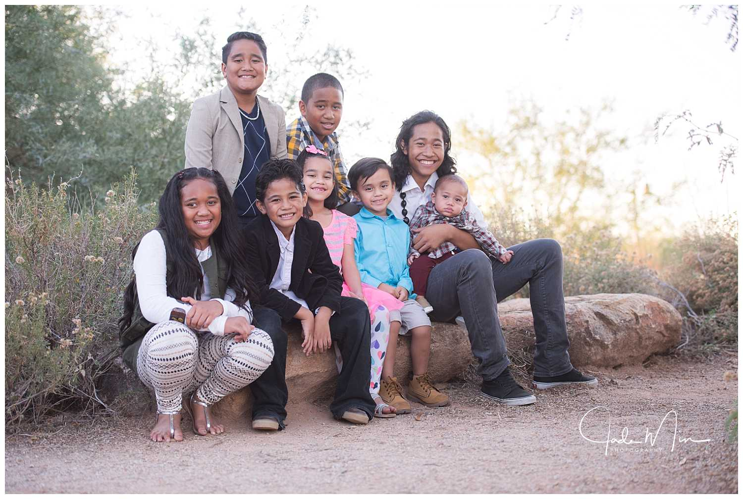 I've never met a group of sweeter kids than this one. :)