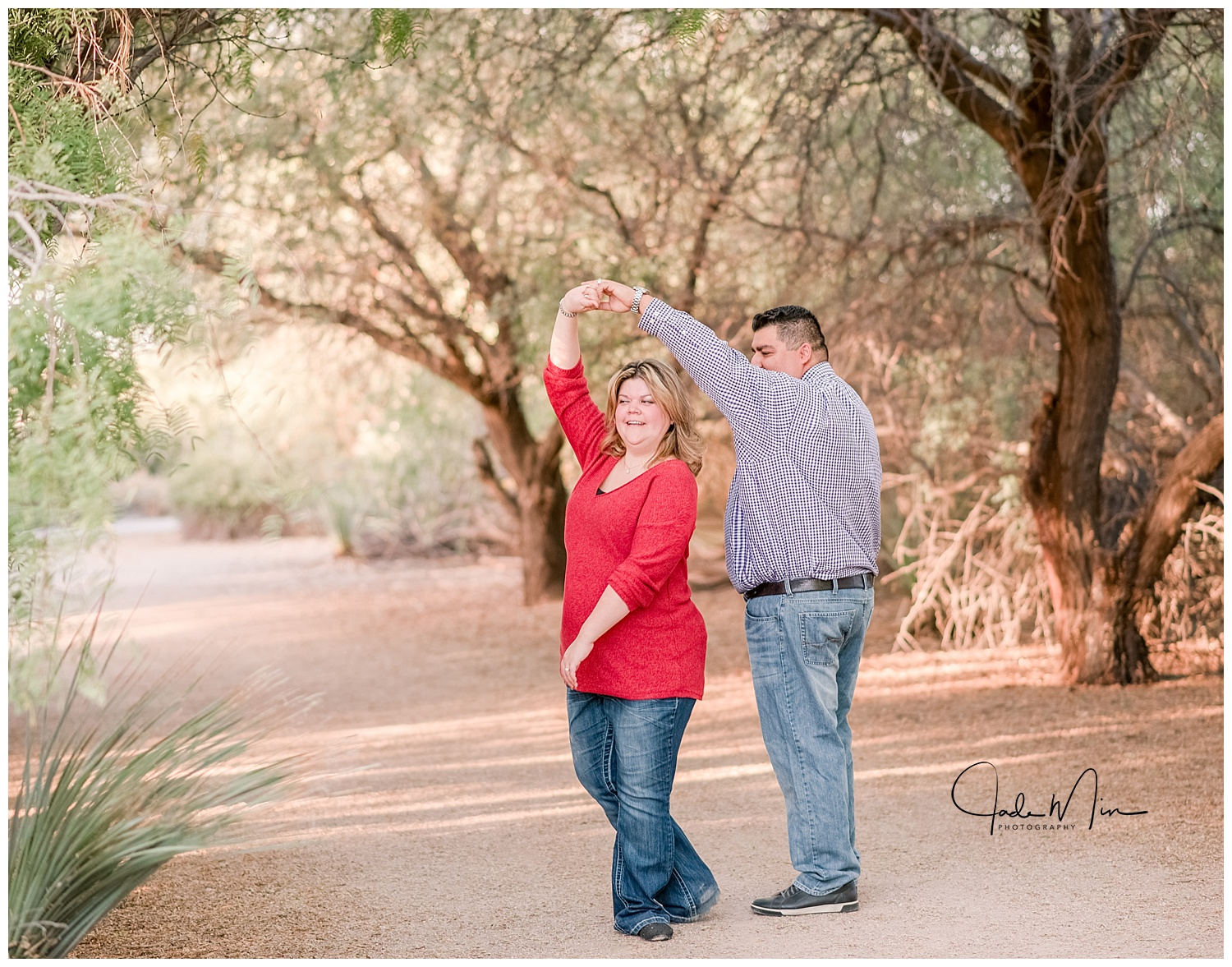 ilbert, Riparian Preserve, Couples Photography, November, Fall