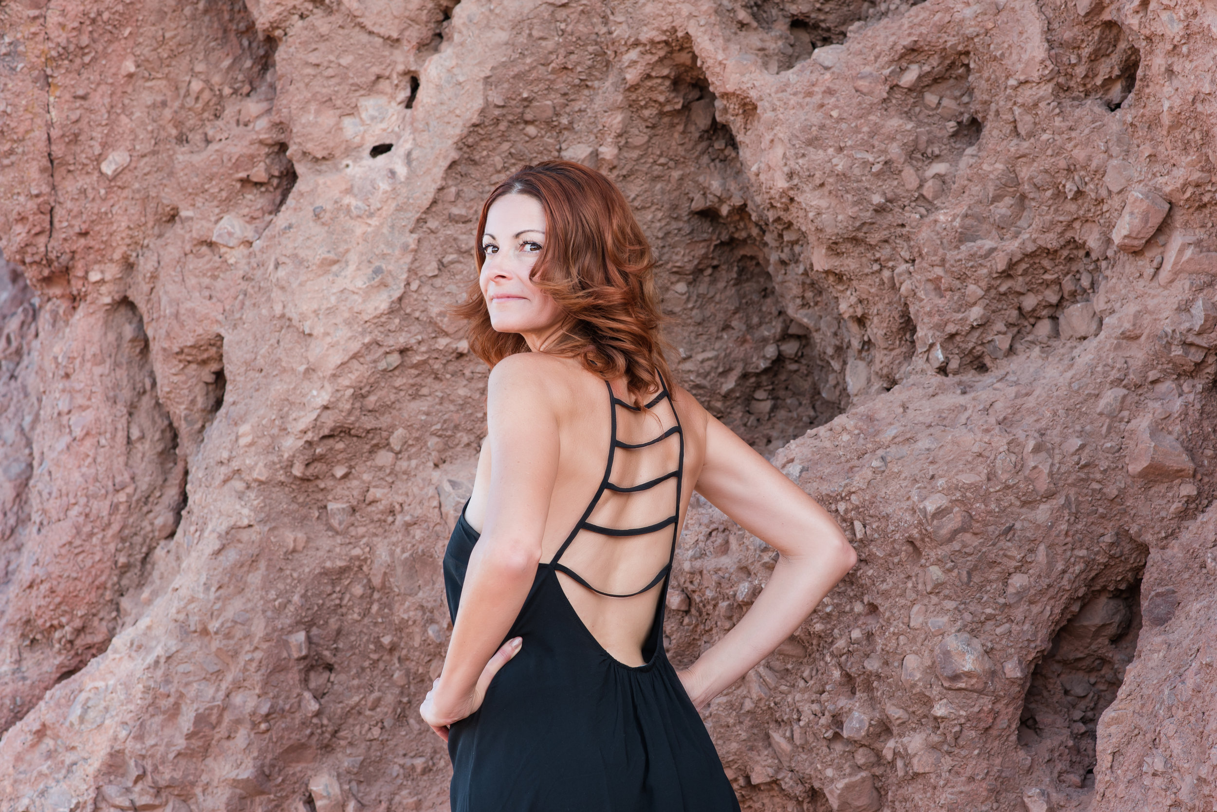 Dawn was such a natural during her lifestyle photo session at Papago Park in Phoenix, Arizona.