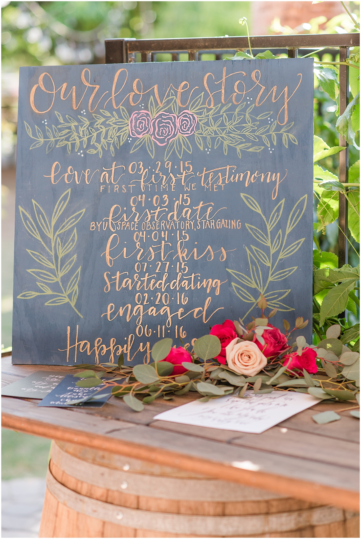 Styled wedding shoot at Modern Farm in Gilbert with bride and groom Kristin and Daniel Travis. Photo taken by Jade Min Photography.