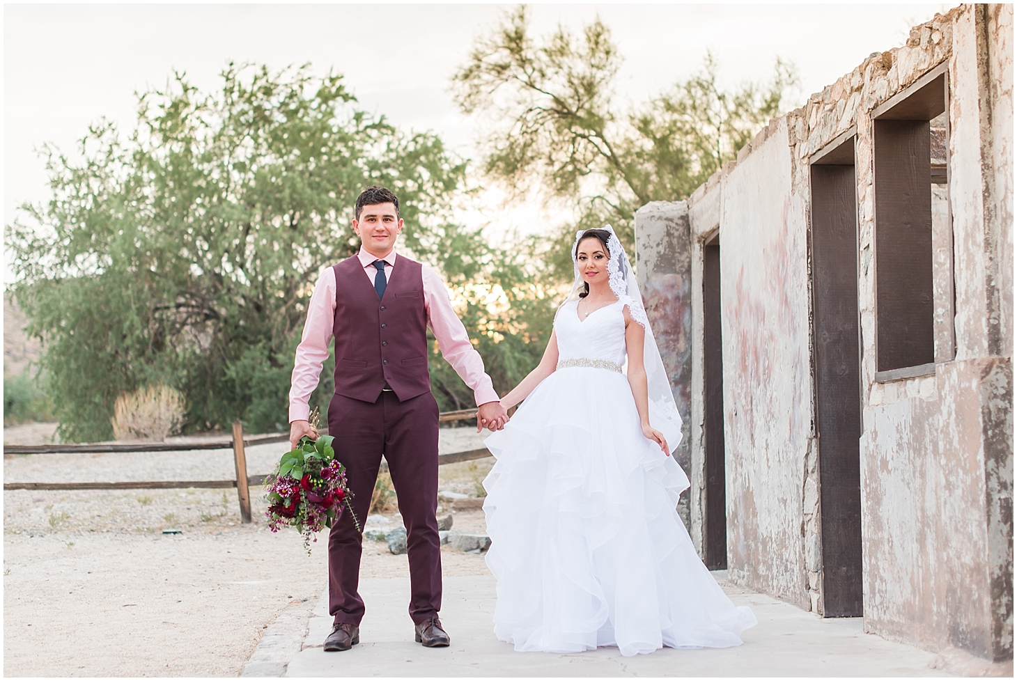 Anniversary session for Nadeera and Alister, photographed at Scorpion Gulch in Phoenix! Photos taken by Phoenix wedding photographer, Jade Min Photography.