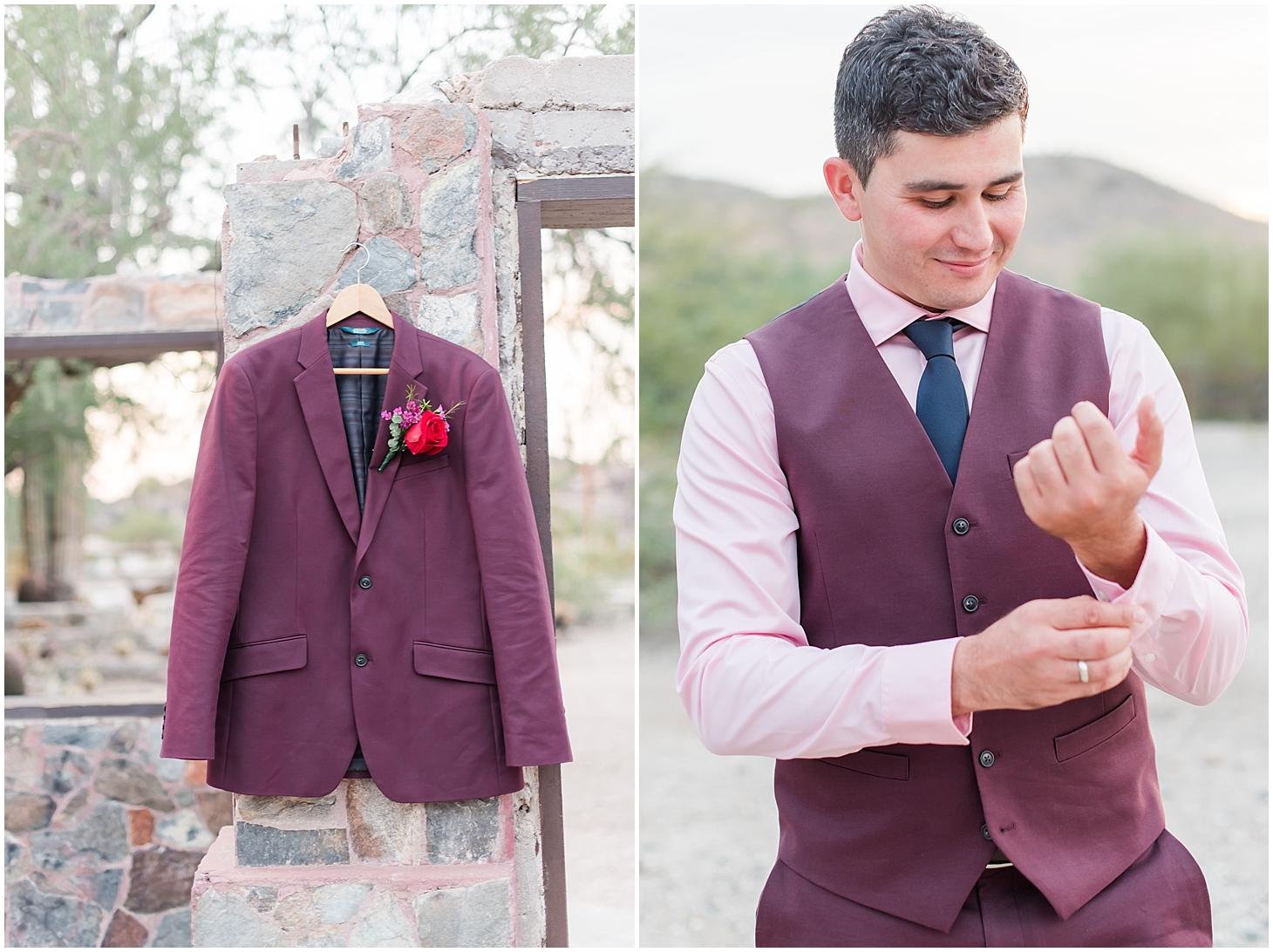 Anniversary session for Nadeera and Alisher, photographed at Scorpion Gulch in Phoenix! Photos taken by Phoenix wedding photographer, Jade Min Photography.
