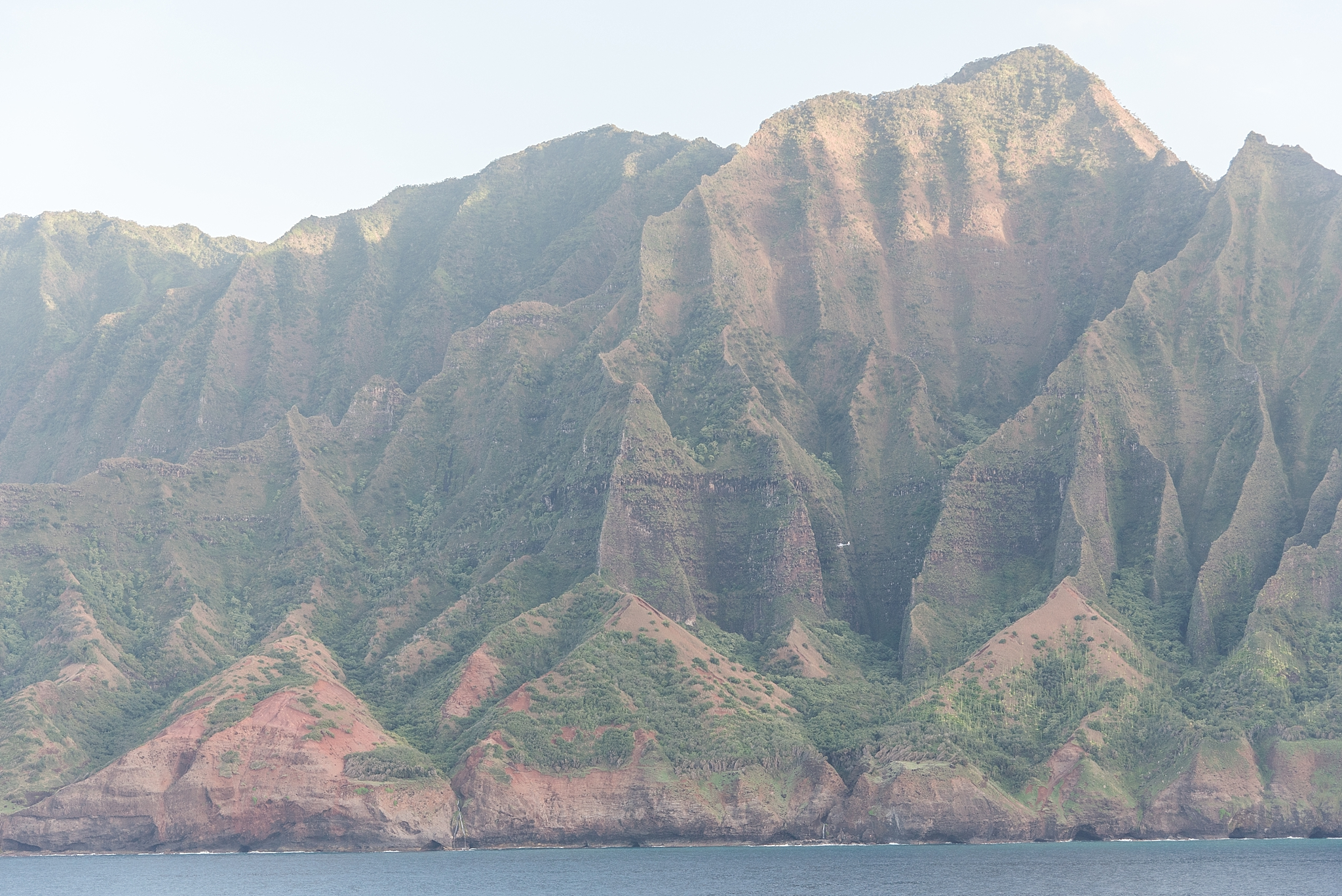 Gorgeous view of Na Pali Coast from the deck of the Pride of America.