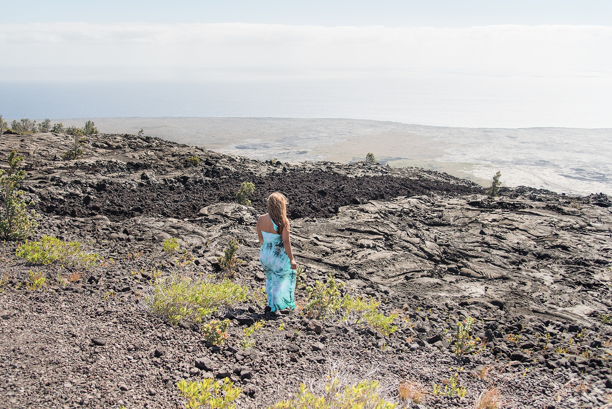 Driving the Chain of Craters Road on the Big Island, Hawai'i. Photo by Jade Min Photography.