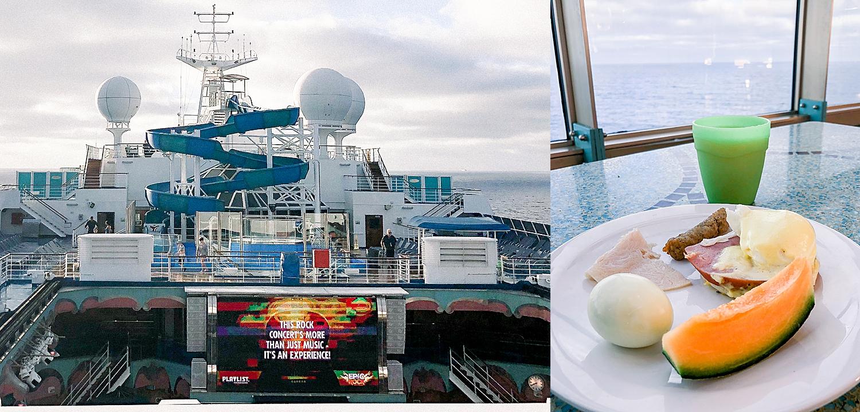 Buffet Breakfast at Lido Restaurant on Carnival Splendor. Photos taken by Jade Min Photography.