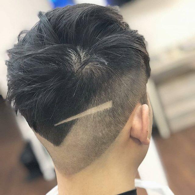 Not your average barber cut @lawler_michaeltheking