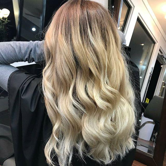 Butter Cream Blonde by @hairbyhayleyquinn