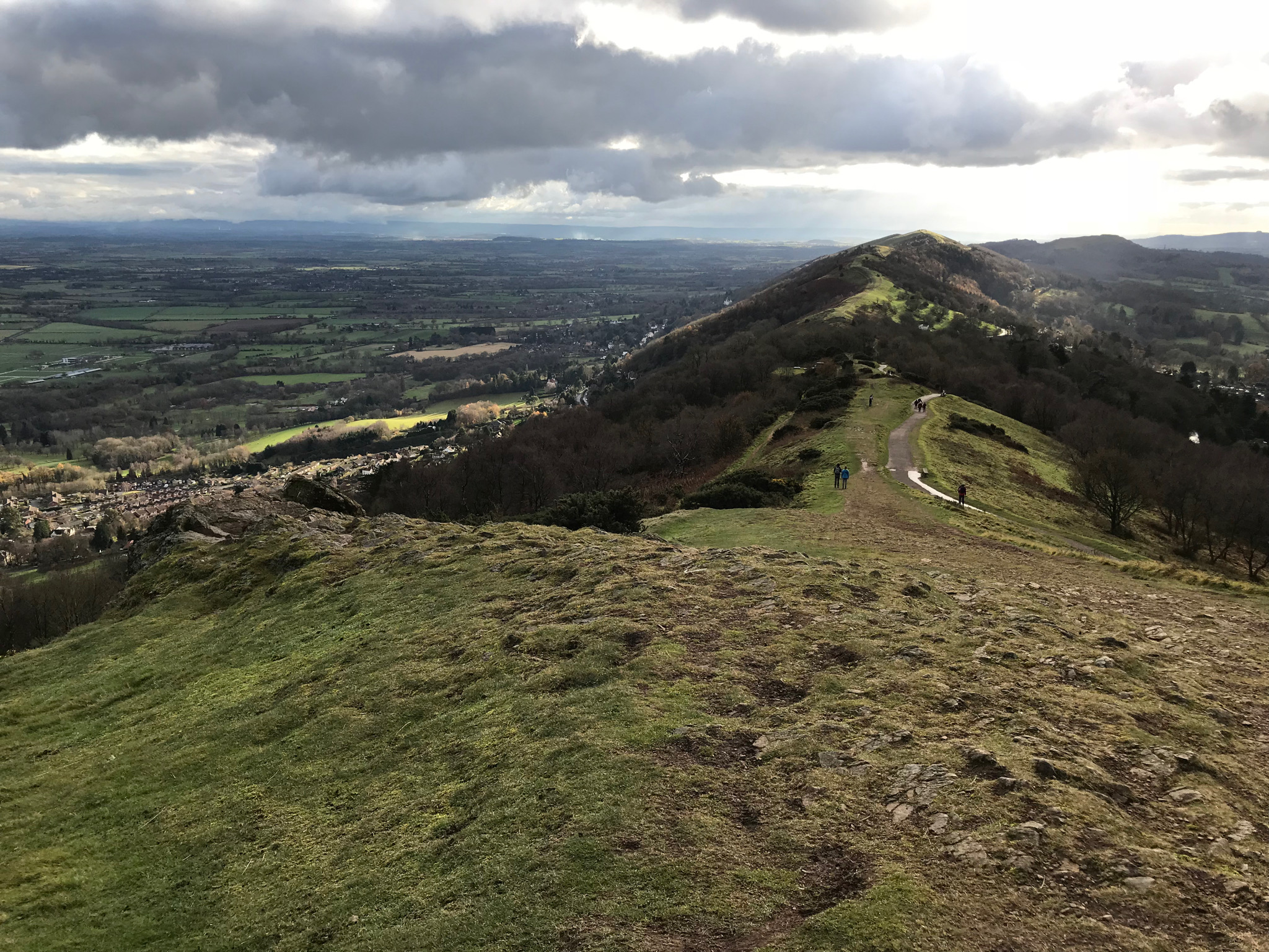 View from the Hills towards Hereford