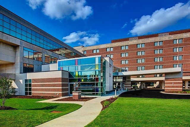 Self Regional Hospital photography project for Rodgers Builders (Charlotte, NC) and McMillan Pazdan Smith Architecture (Greenville, SC).