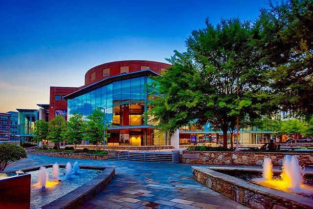 Recent work for the Peace Center - A Twilight Evening . . . #twilight  #peacecenter #architecturephotography  #marketing #branding #commercialphotography #architecture  #photography #greenvillesc #upstatesc #visitgreenvillesc #gvltoday #greenvillescphotographer #offthegridgreenville  #yeahthatgreenville #fisheyestudios #retouching #southcarolina #D810 #creativephotography #twilightphotography