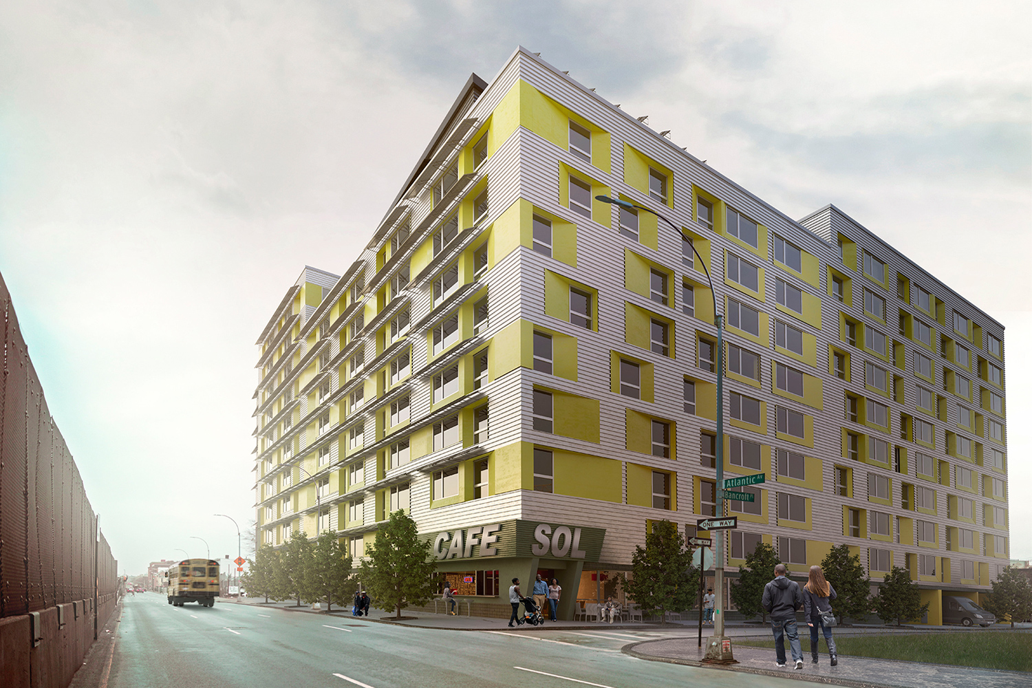 The Parasol | WMBEAffordable Housing Proposal | Brooklyn