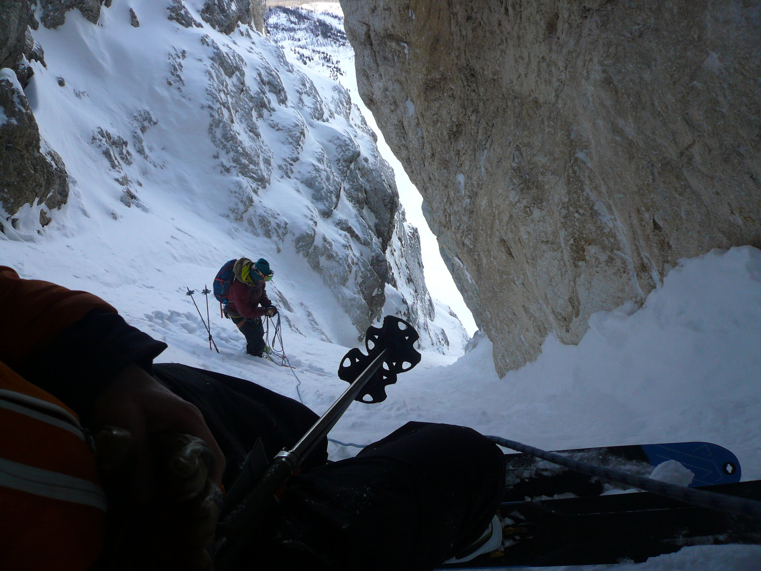 Martin Lefebvre on Mt. Narao.