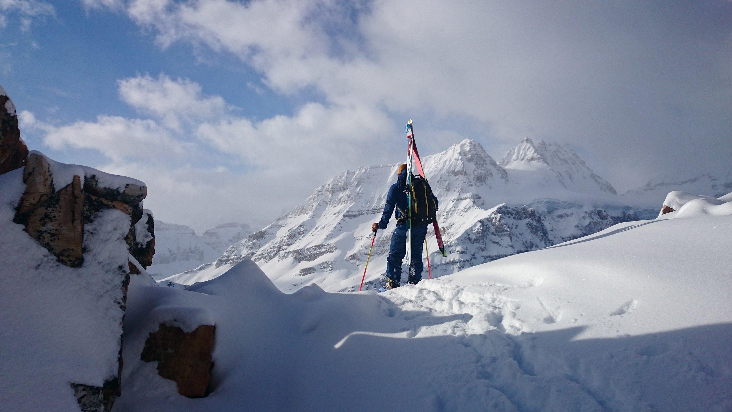 Chris Rubens on Mt. Bell