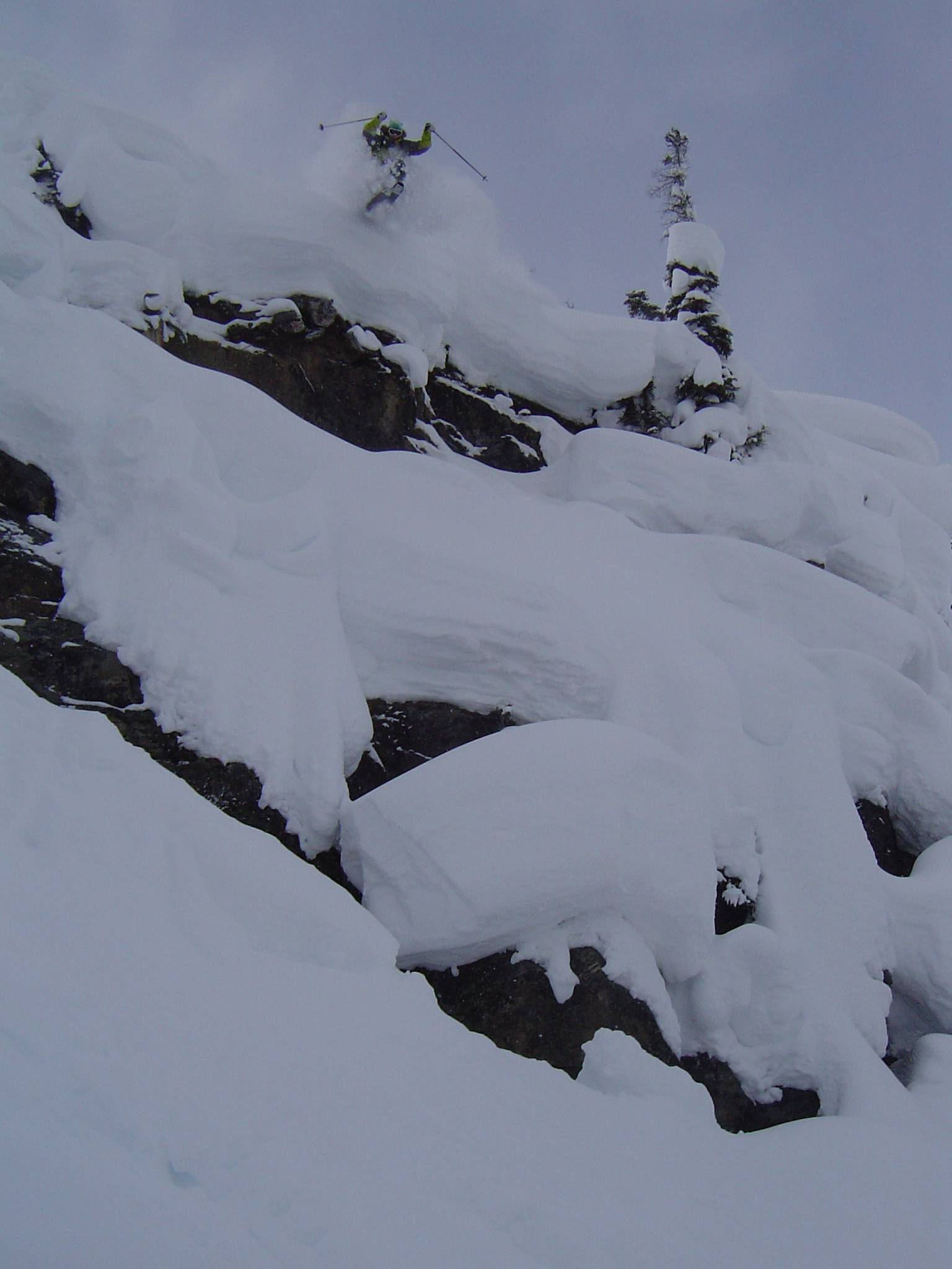 If you can't stomp it on Renegades, you can't stomp it. Hjorleifson at Sentry Mtn Lodge.