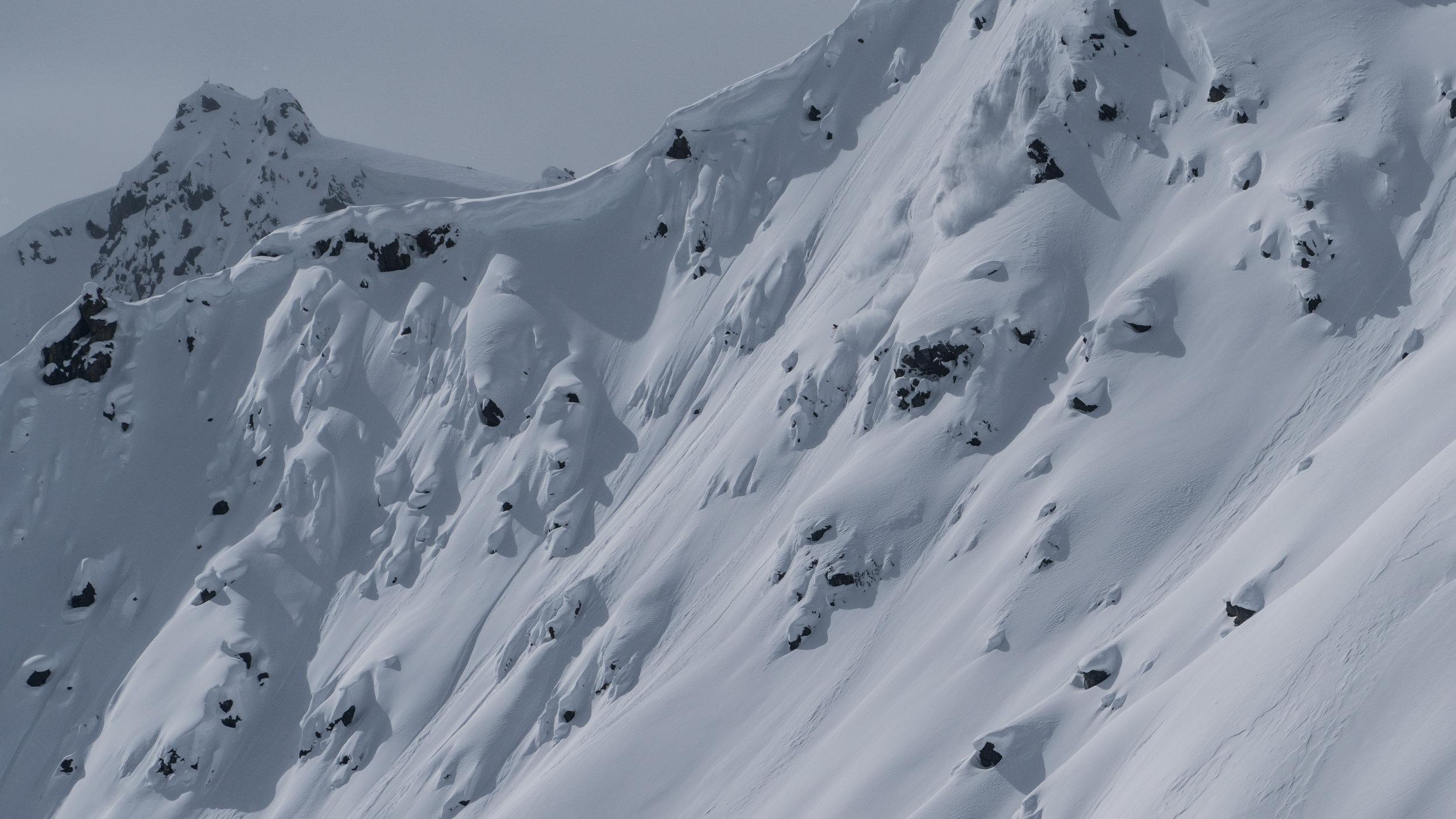 Hjertaas skiing. Shane Treat photo.