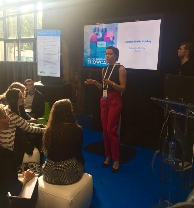 Our Social & Digital Lead, Michelle Mc Coy at CONNECT16