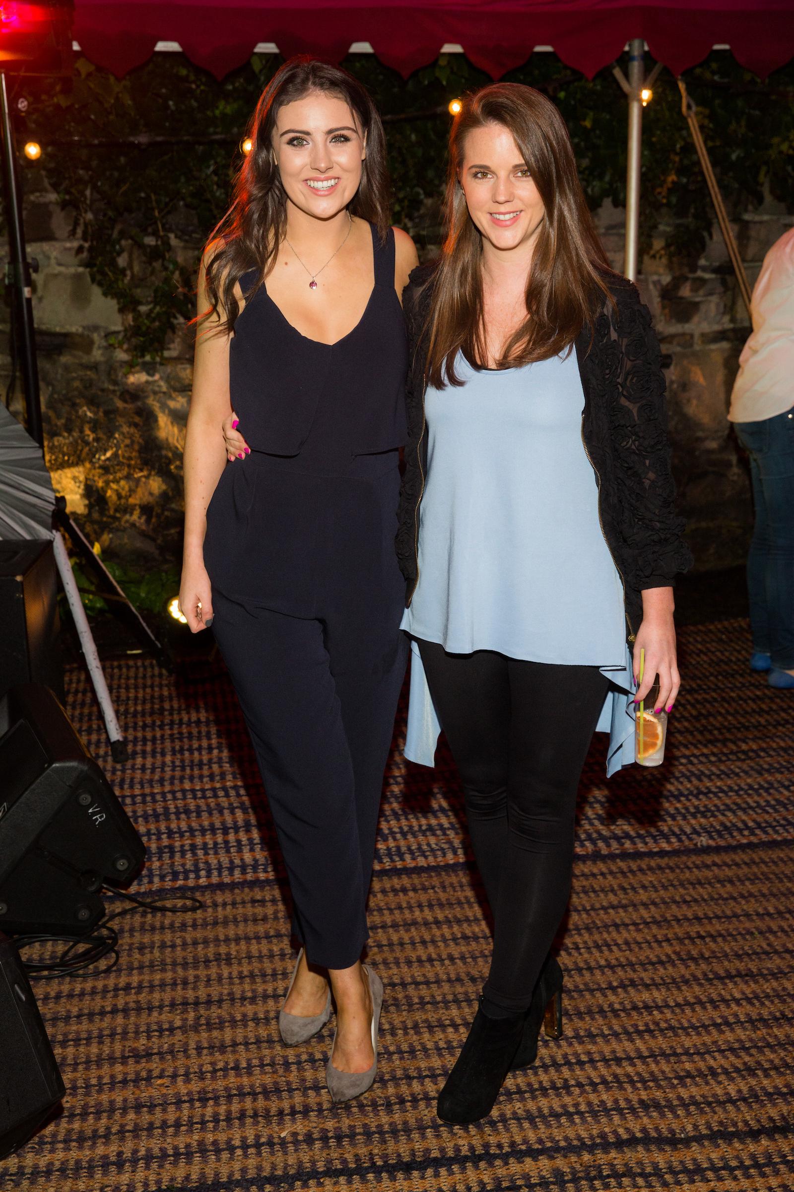 Hannah O'Neill and Elena Healy