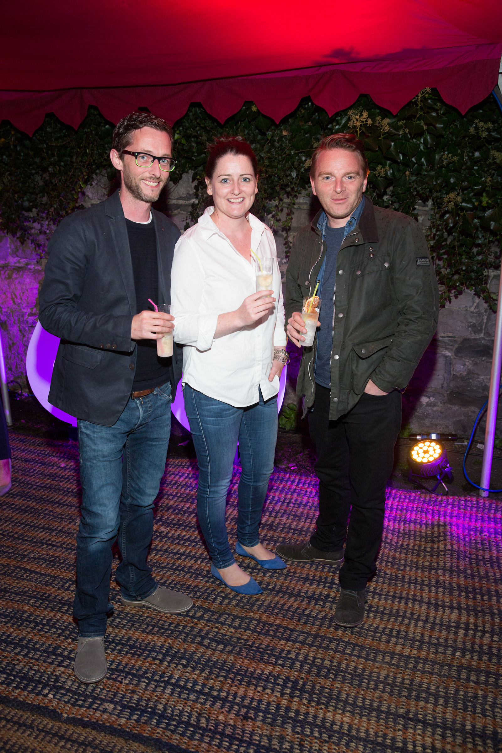 Rob Tracey, Liz Dolan and Trevor Dunne