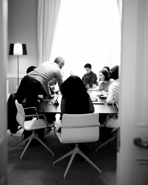 Internal staff meetings