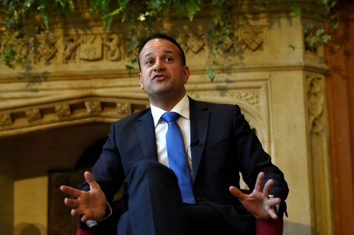 Taoiseach Leo Varadkar has said the Government is making contingency plans in case of a Brexit medicines shortage, but so far, some of the HSE's largest medicines suppliers have yet to be contacted for input.  (Photo credit: Clodagh Kilcoyne.)