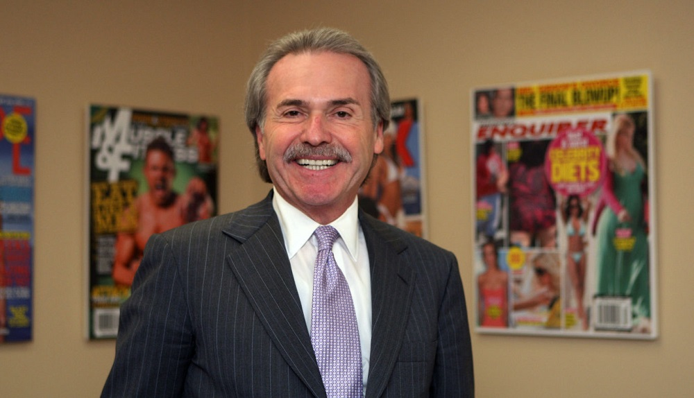 American Media Inc CEO David Pecker.