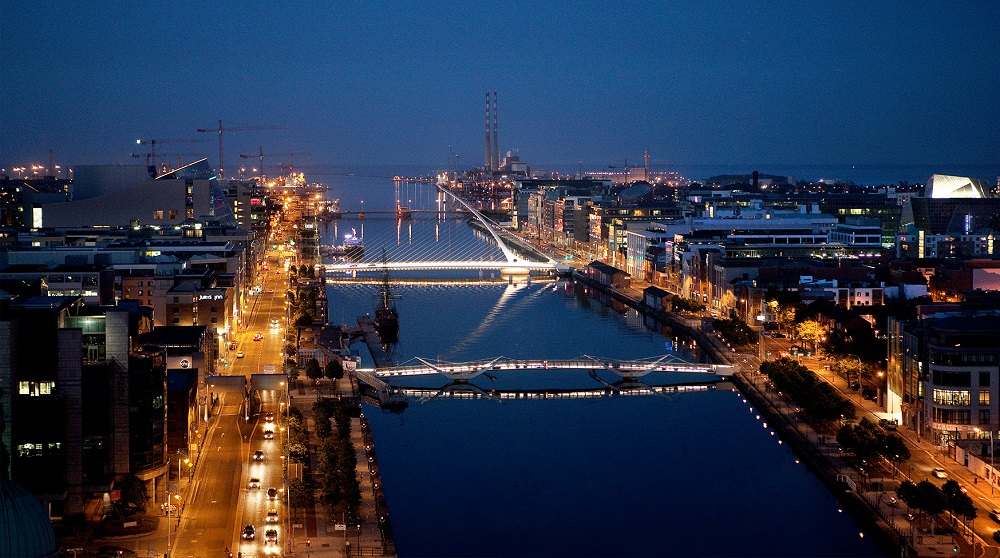 With the help of a little silicon, Dublin's docklands have been restored to their former glory.