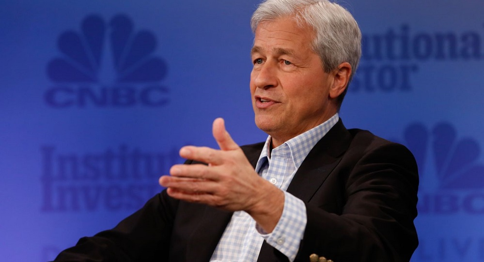 Jamie Dimon, CEO of JPMorgan Chase and chairman of the Business Roundtable.