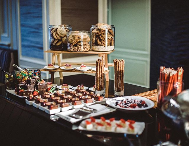 Children's dessert table at the Ritz-Carlton, Amelia Island. Beautiful! | #theluxebook
