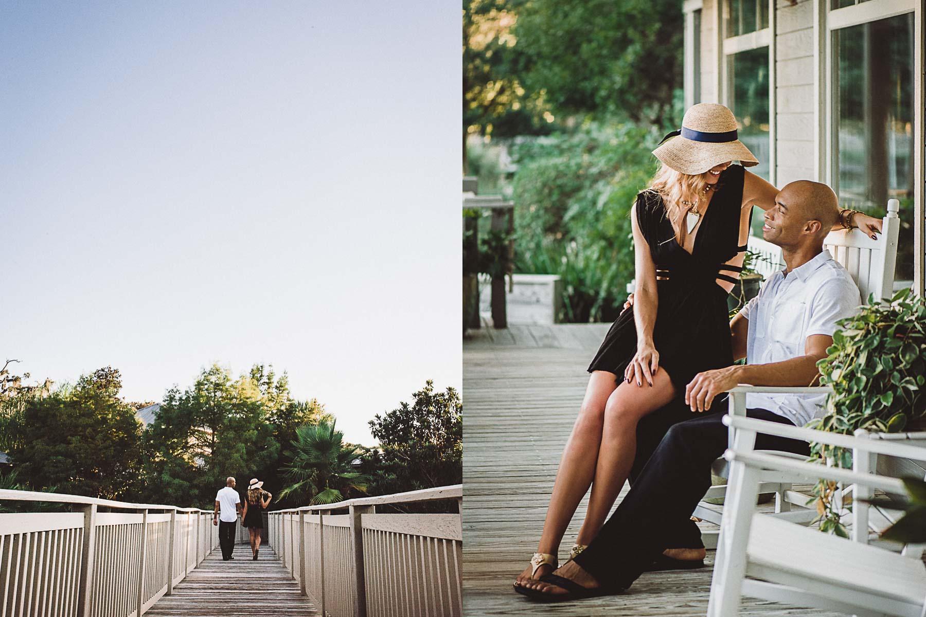 Couple enjoying the Spa at Omni Amelia Island Resort.