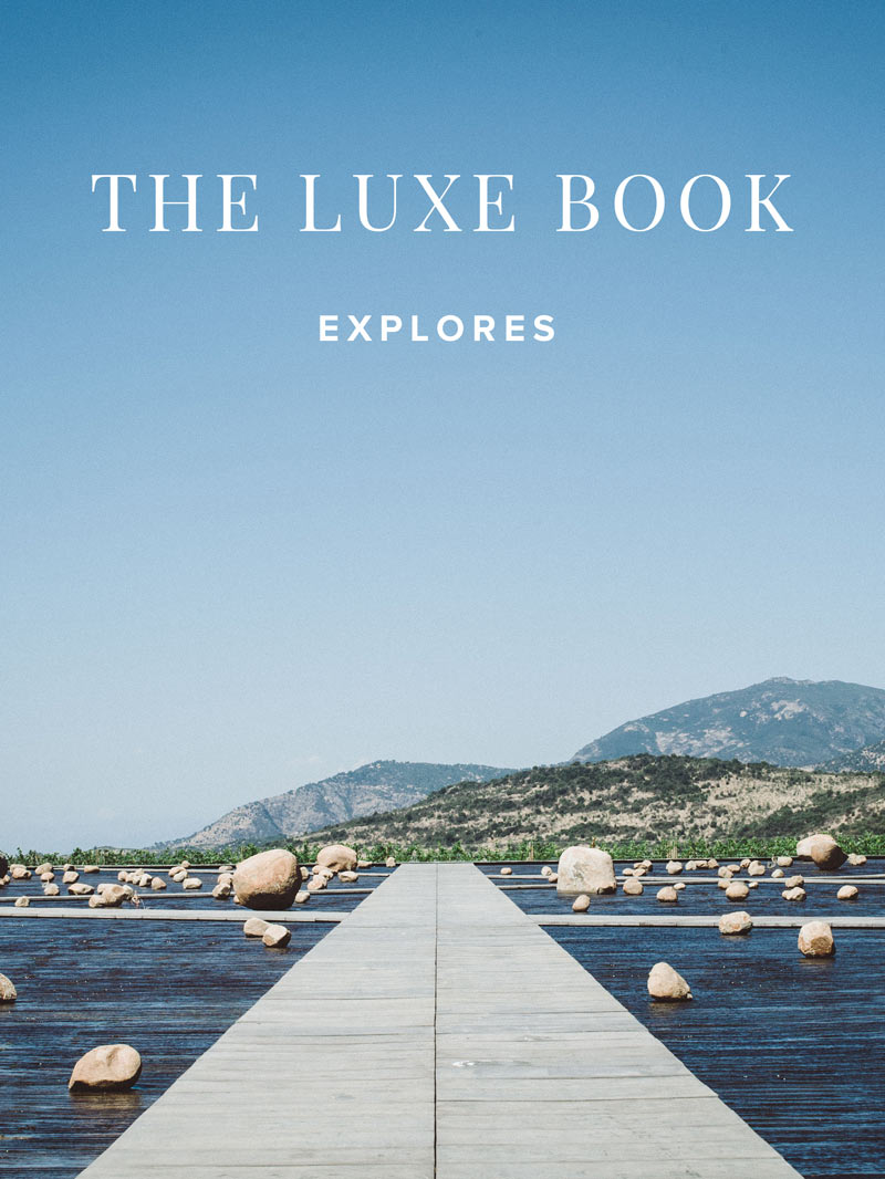 The Luxe Book luxury hotel and travel magazine.
