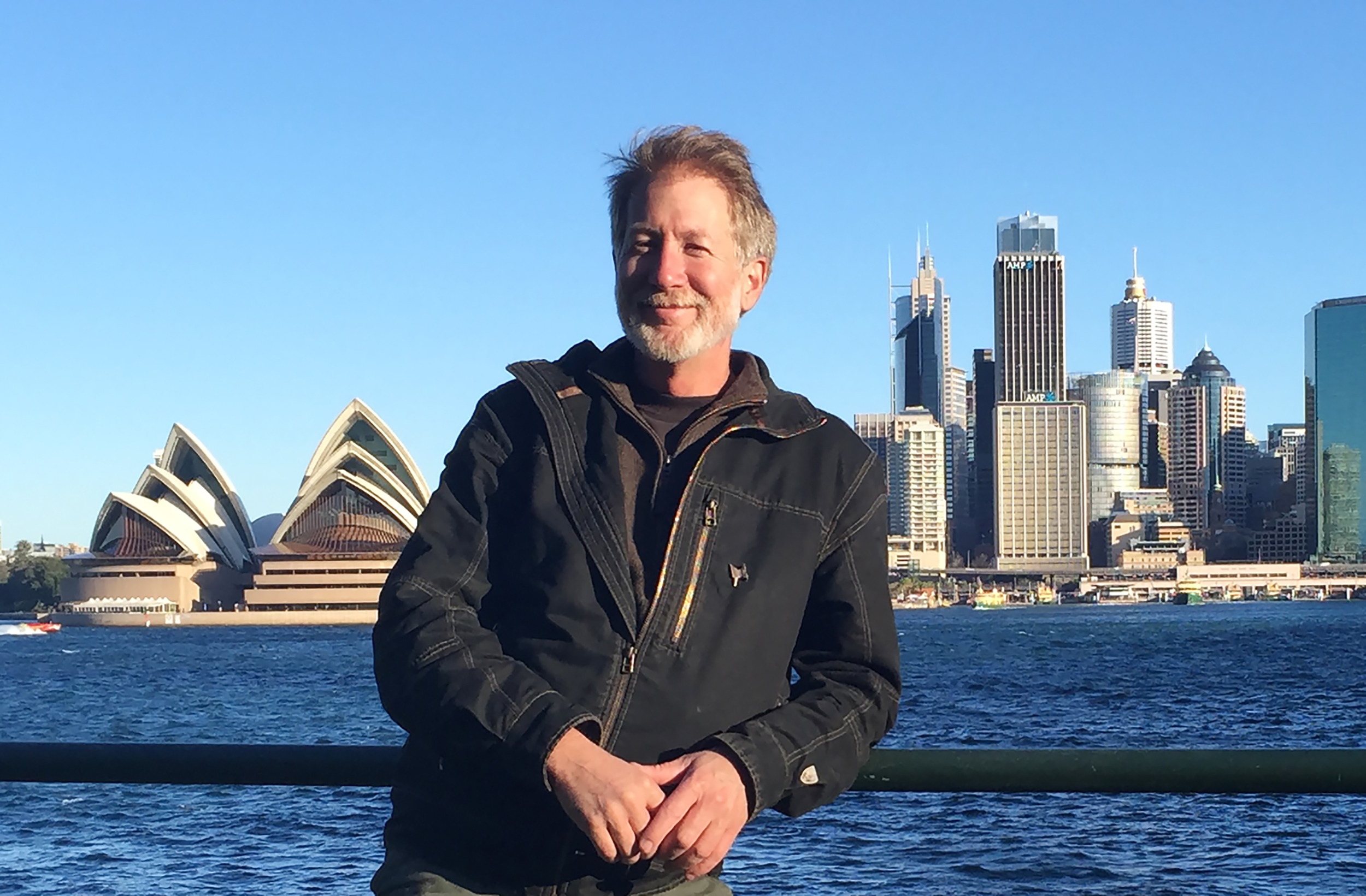 Blacksmith and artists Rick Smith in Sydney, Australia.He was invited by the Artist Blacksmith Association of New South Wales to teach a workshop as a visiting artist in 2015.