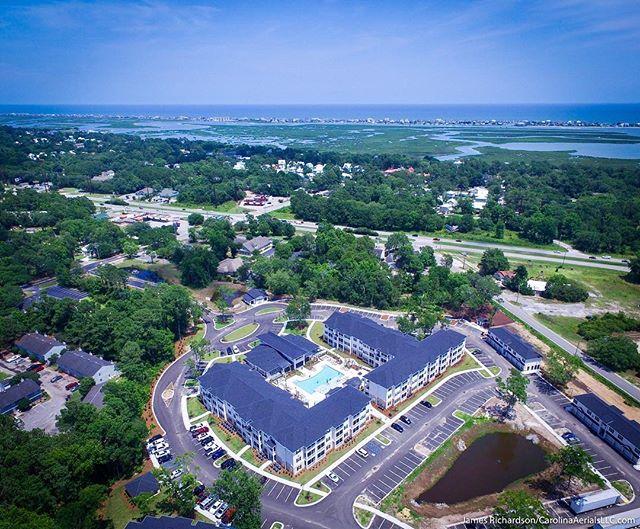 #Droneview: Waterleaf at #MurrellsInlet. @waterleafmurrellsinlet #drone #aerial #aerialphotography