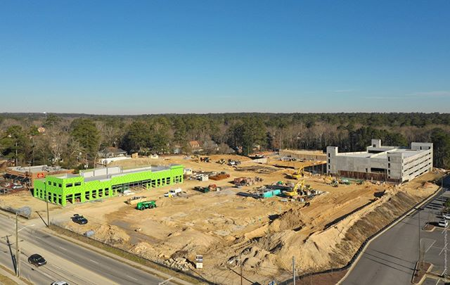 #Droneview: Cardinal Crossing, #ForestAcres, #Columbia, SC. #drone #aerial #aerialphotography #CRE #underconstruction @thebeachcompany @colliersintlsc