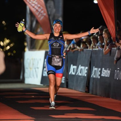 Kimiya Young (Guide) - I started running at a young age – throughout high school in soccer and cross-country. While rehabilitating a knee injury in 2017, I found myself spending a lot of time in the pool and on the bike and immersed myself in the world of triathlon within months! I've raced in numerous short- and mid-course races, working up to racing Ironman Texas in 2019! I'm a neuroscientist at MD Anderson Cancer Center and all around science nerd, podcast host, foster of rescue dogs with Red Collar, and have guided with Catapult since 2018!