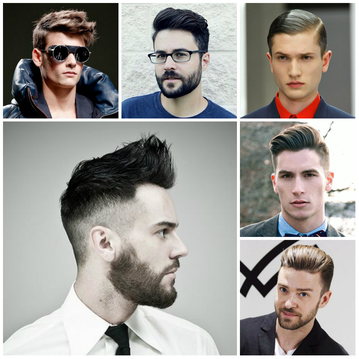Men's hairstyle inspiration.