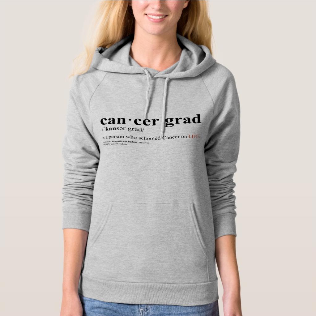 CancerGrad Hoodie Definition Cancer Grad