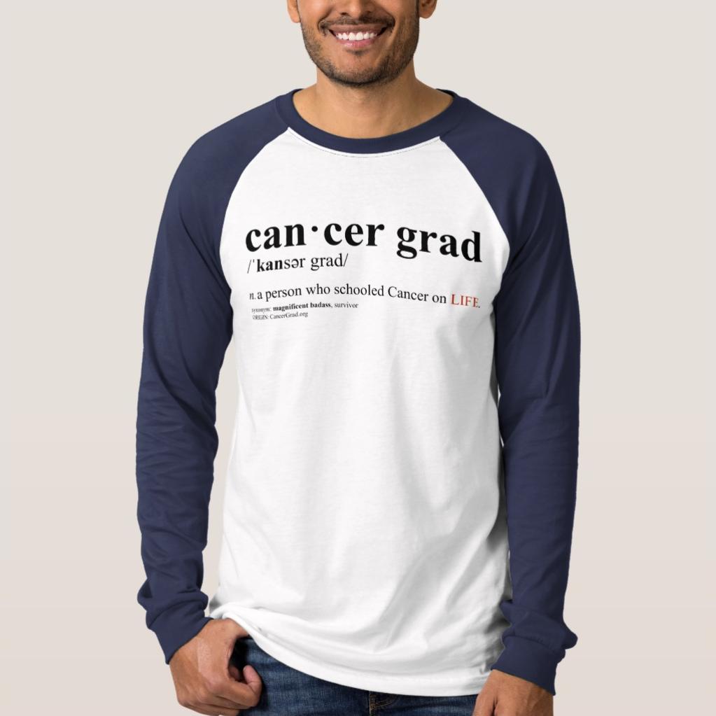 CancerGrad_Baseball_TShirt_Blue_Cancer_Grad_Definition