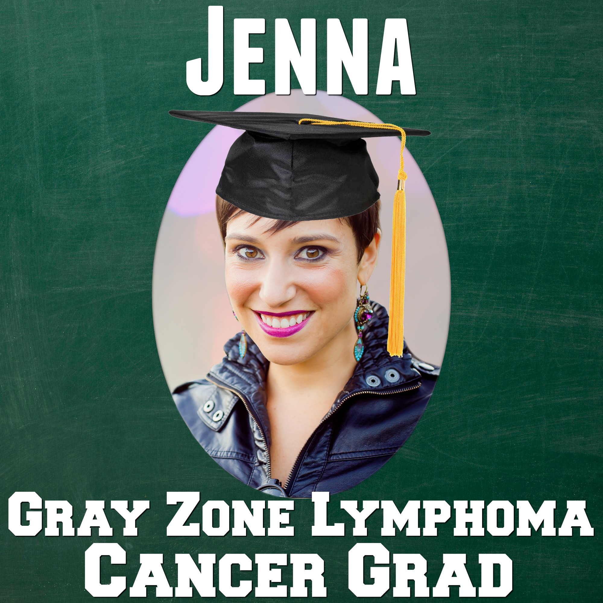 Jenna Benn Shersher Cancer Grad Yearbook CancerGrad Lymphoma Twist Out Cancer