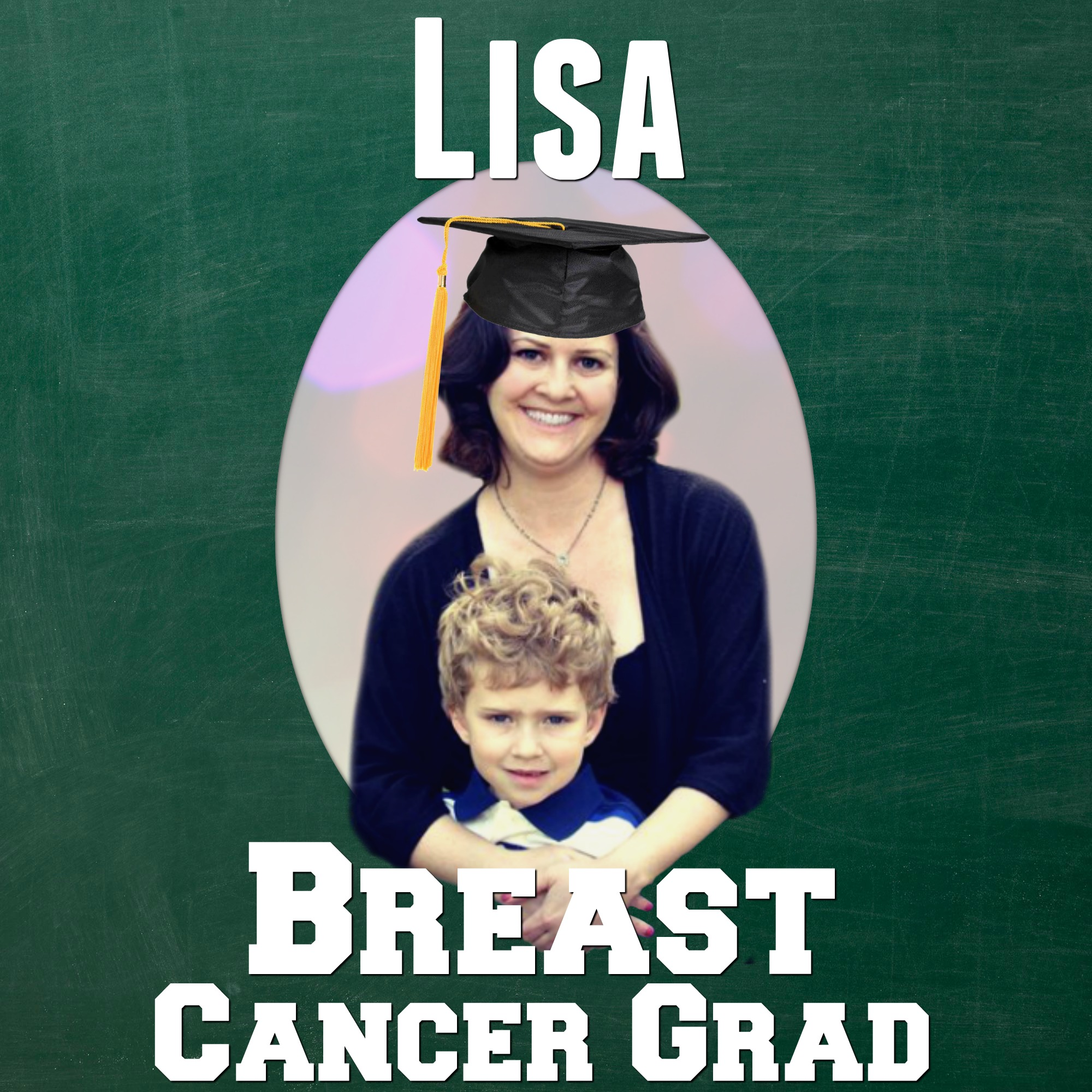 lisa Bair Breast Cancer Grad CancerGrad Yearbook