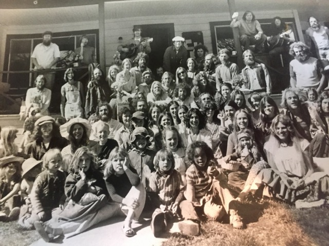 Greenfield Ranch, Easter 1977