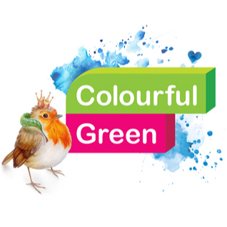 Colourful Green logo's, illustrations and paintings