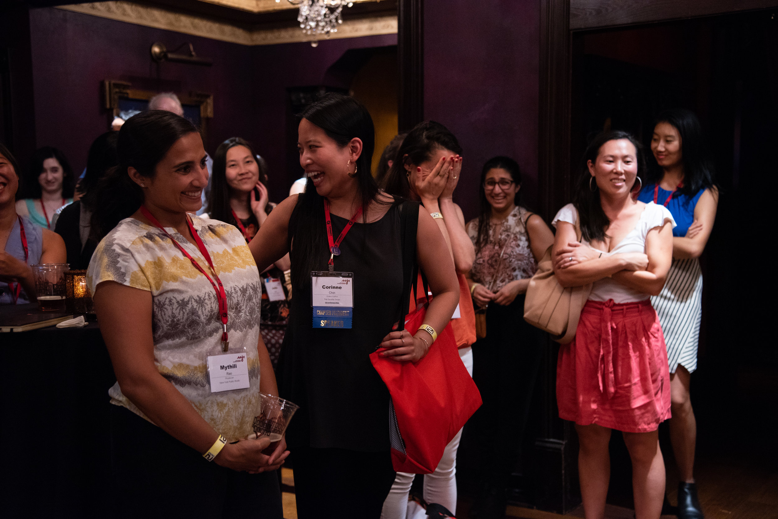 Think.Public.Media's reception at the AAJA Convention 2018 in Houston, Texas.