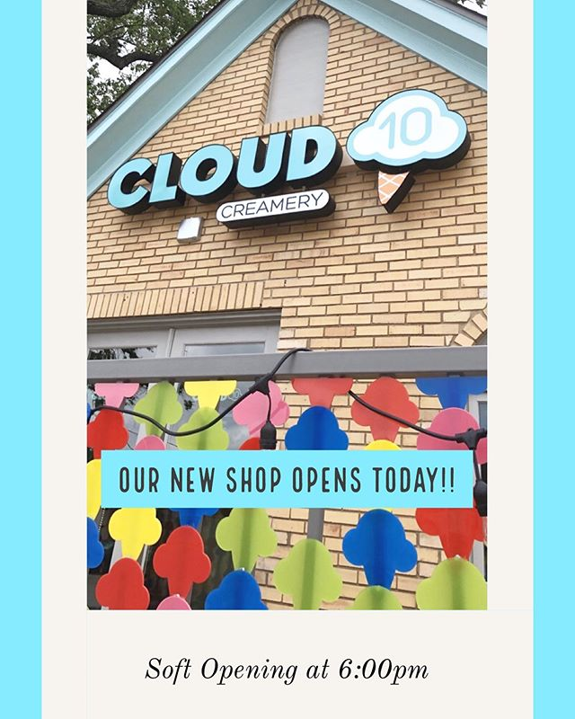 🥳🥳🥳Today is the day!! We're very excited to be opening our 3rd location in Upper Kirby and we'd love for you to join us! 6pm @ 3502 S Shepherd Dr.