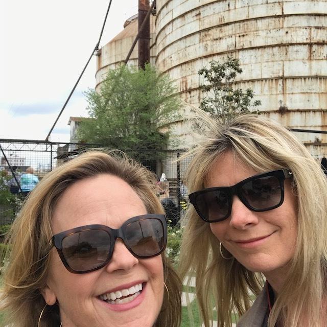 Susan and I at Magnolia Market! We love Jo Jo!