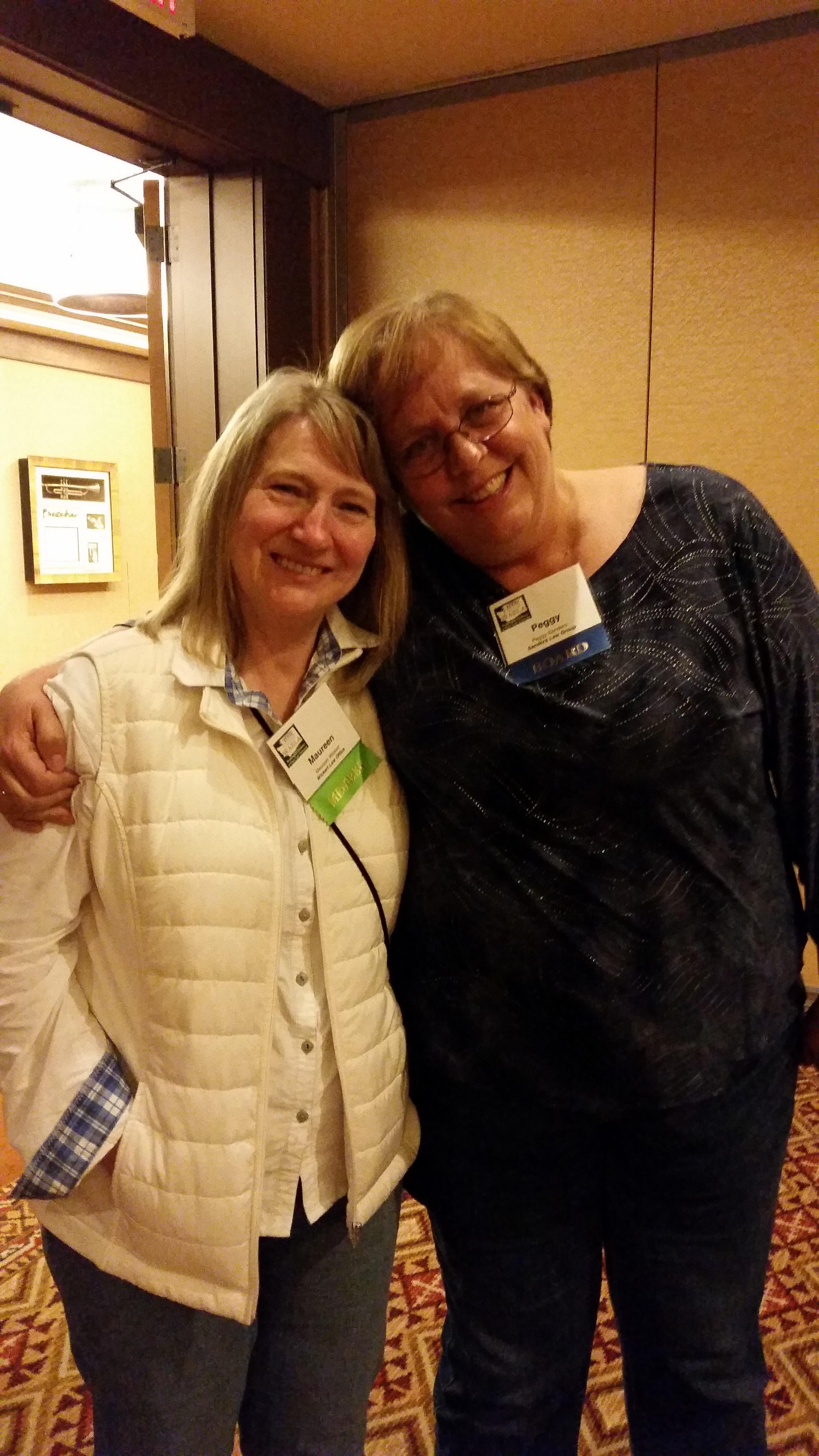 Maureen Wickert and Peggy Sanders (BOD and leg. chair).jpg