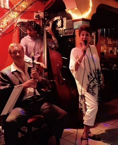 Joan with The Rick Bogart Trio - Tagine's (NYC)