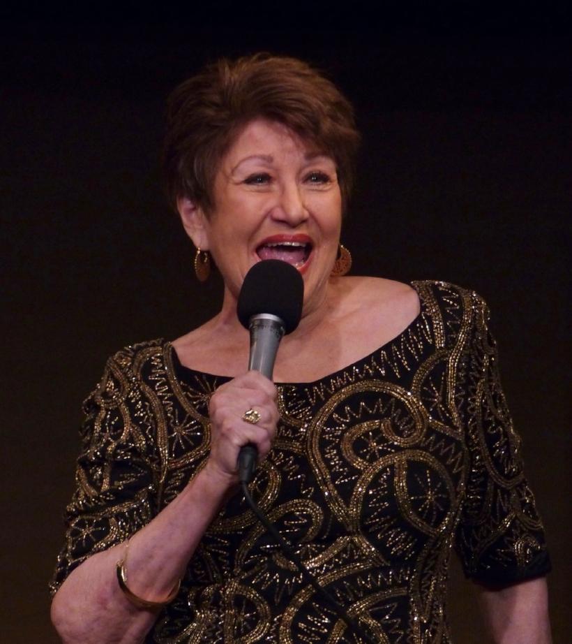 Joan performing at the Jan Wallman Tribute at The Duplex (NYC)