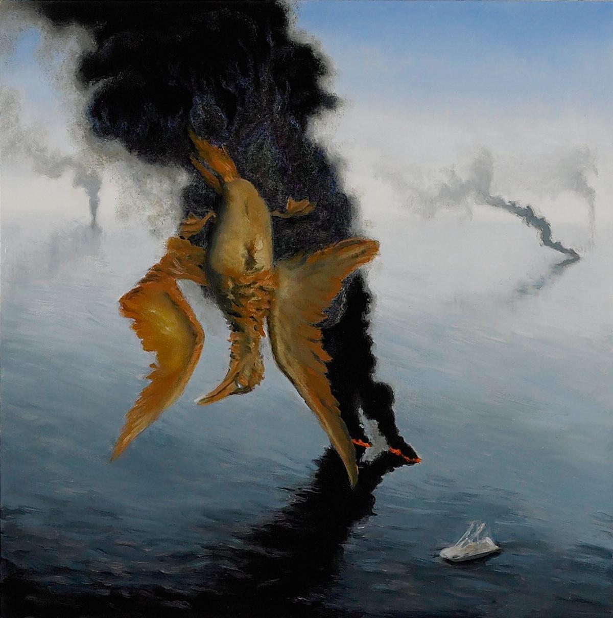 Allegory of Oil