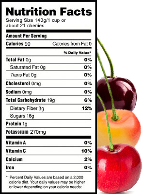 Nutrition Facts Yakima Fresh Llc